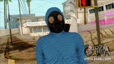 Skin 1 from Heists GTA Online DLC for GTA San Andreas third screenshot