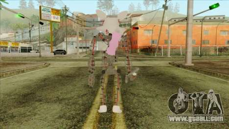 Mangle from Five Nights at Freddy 2 for GTA San Andreas second screenshot
