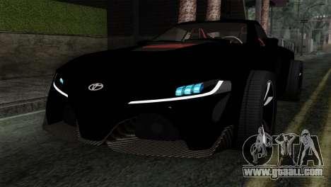 Toyota Supra FT v2 for GTA San Andreas