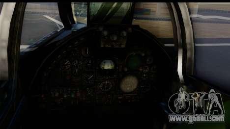 Ling-Temco-Vought A-7 Corsair 2 Belkan Air Force for GTA San Andreas back left view