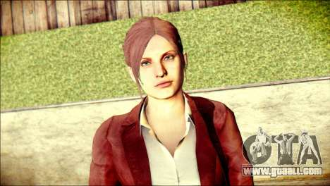 Claire Redfield from Resident Evil for GTA San Andreas third screenshot