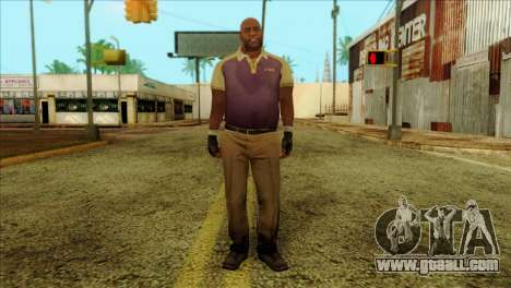 Coach from Left 4 Dead 2 for GTA San Andreas