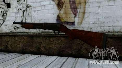 M37 Ithaca for GTA San Andreas second screenshot