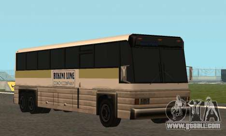 Coach Fixed for GTA San Andreas inner view