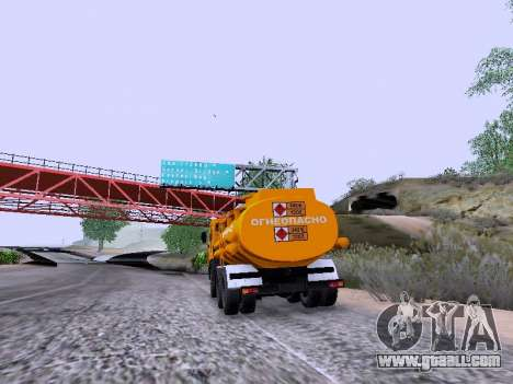 KamAZ 53212 for GTA San Andreas left view