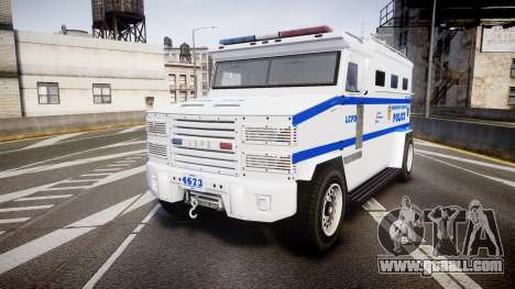 GTA V Brute Police Riot [ELS] skin 4 for GTA 4