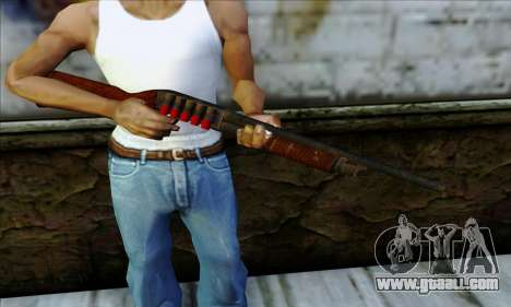 M37 Ithaca Long SS for GTA San Andreas third screenshot