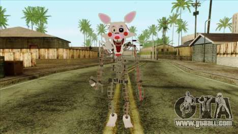 Mangle from Five Nights at Freddy 2 for GTA San Andreas