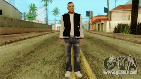 Luis Skin from GTA 5 for GTA San Andreas