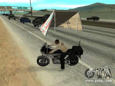 Jumps for GTA San Andreas third screenshot