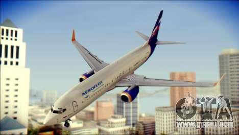 Boeing 737-800 Aeroflot for GTA San Andreas