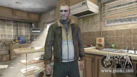 Niko Bellic for GTA 5