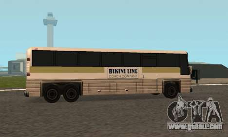Coach Fixed for GTA San Andreas back view