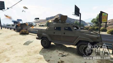 GTA 5 Control Heist Vehicles Solo v1.3 third screenshot