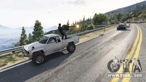 GTA 5 Lamar Gunner