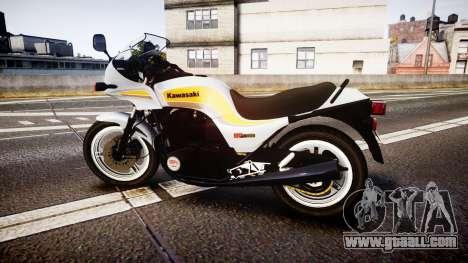 Kawasaki GPZ1100 for GTA 4 left view
