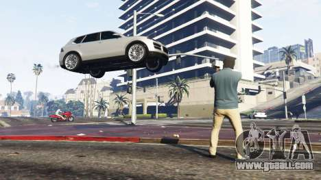 GTA 5 Gravitational weapons