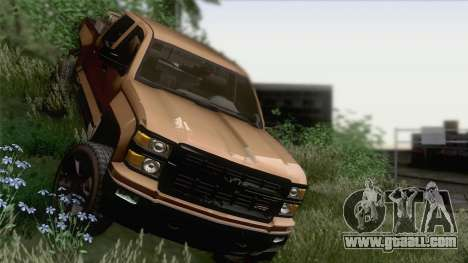 Chevrolet Silverado 2014 Work for GTA San Andreas
