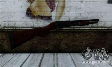 M37 Ithaca Long for GTA San Andreas second screenshot
