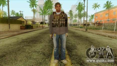 Technician from PMC for GTA San Andreas