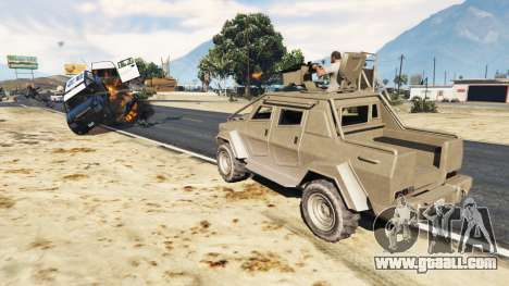 GTA 5 Control Heist Vehicles Solo v1.3 second screenshot