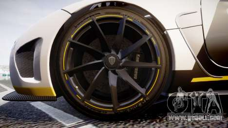 Koenigsegg Agera 2013 Police [EPM] v1.1 PJ3 for GTA 4 back view