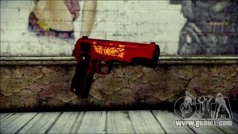 Dual Colt Red Dragon CF for GTA San Andreas