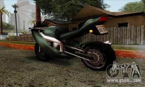 GTA LCS PCJ-600 for GTA San Andreas left view