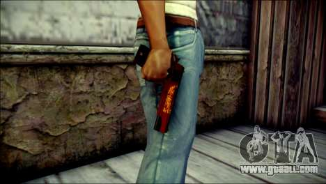 Dual Colt Red Dragon CF for GTA San Andreas third screenshot
