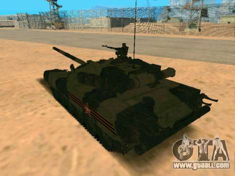 T-80U for GTA San Andreas left view