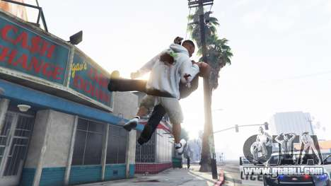 GTA 5 Throw v1.1 second screenshot
