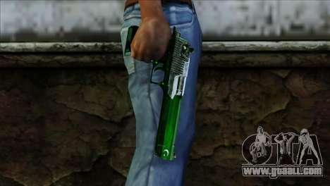Desert Eagle Pakistan for GTA San Andreas third screenshot