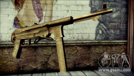 MP40 from Call of Duty World at War for GTA San Andreas