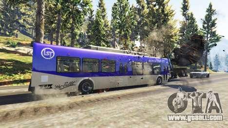 GTA 5 Heavy buses and trucks second screenshot