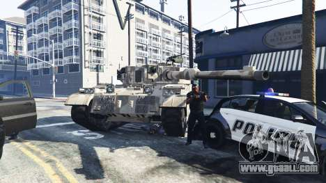 Tanks with 5 stars for GTA 5