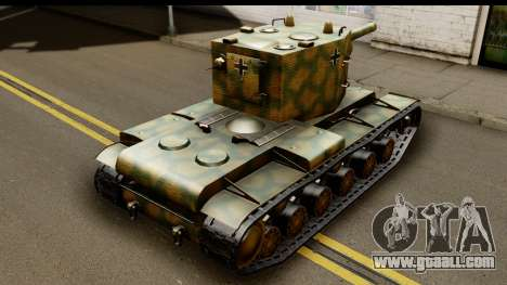 KV-2 German Captured for GTA San Andreas left view