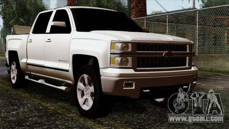 Chevrolet Silverado 2014 LTZ for GTA San Andreas
