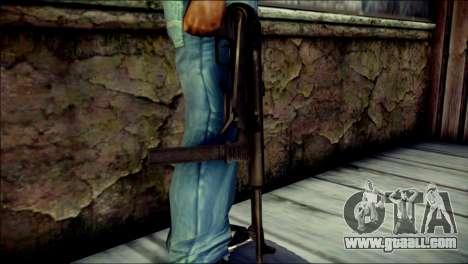MP40 from Call of Duty World at War for GTA San Andreas third screenshot