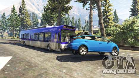 Heavy buses and trucks for GTA 5