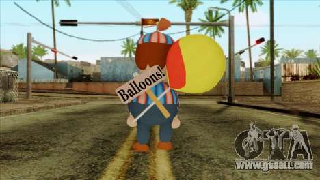 Balloon Boy from Five Nights at Freddys 2 for GTA San Andreas second screenshot