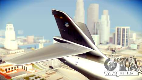 B-1B Lancer Camo Texture for GTA San Andreas back left view
