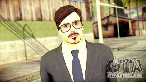 Tony Stark Skin for GTA San Andreas third screenshot