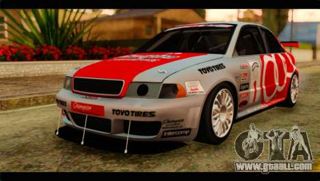 Audi S4 B5 2002 Champion Racing for GTA San Andreas