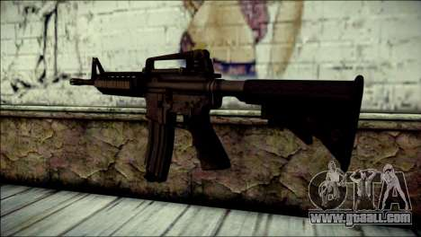 Rumble 6 Assault Rifle for GTA San Andreas second screenshot