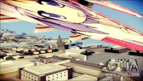 MIG-29 Shrine Maiden Hiragi for GTA San Andreas right view