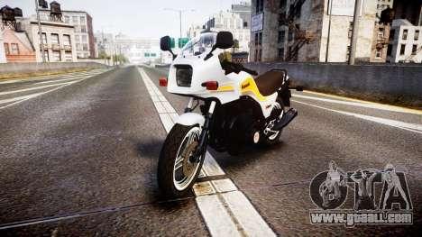 Kawasaki GPZ1100 for GTA 4