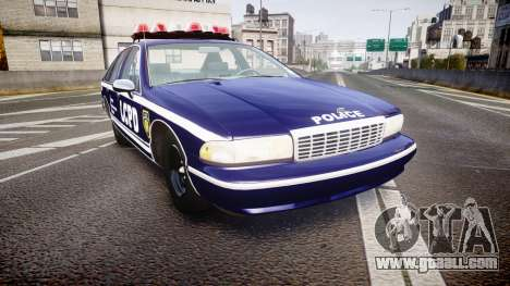 Chevrolet Caprice 1993 LCPD WoH Auxiliary [ELS] for GTA 4