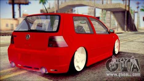 Volkswagen Golf R33 2015 for GTA San Andreas left view