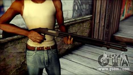 Mossber 590 for GTA San Andreas third screenshot