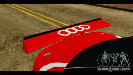 Audi S4 B5 2002 Champion Racing for GTA San Andreas back view